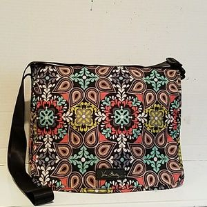 NEW - VERA BRADLEY LAPTOP BOOKBAG LIGHTWEIGHT